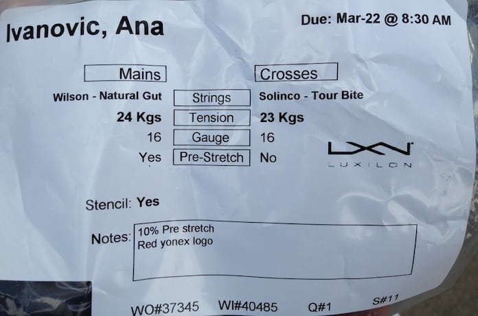 The characteristics of string: pre-stretch
